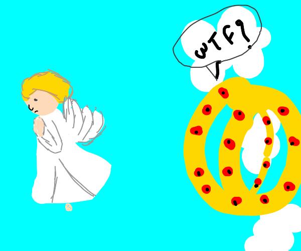 Biblically inaccurate Angel