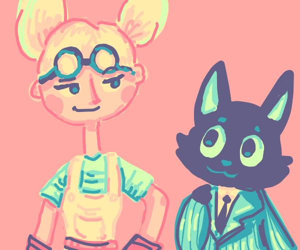 The Citrus Team Event mascots