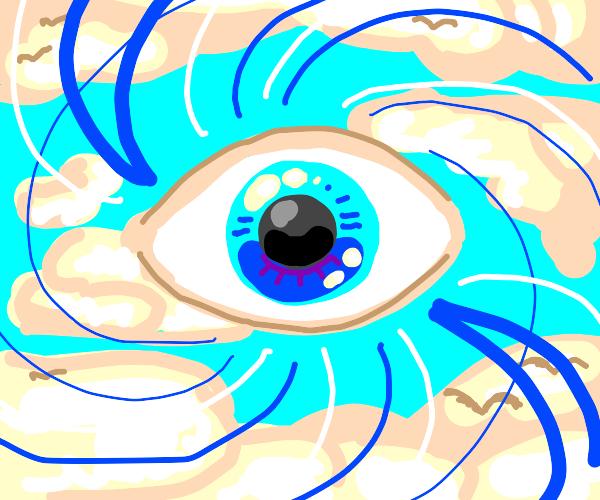 Blue eye in the sky