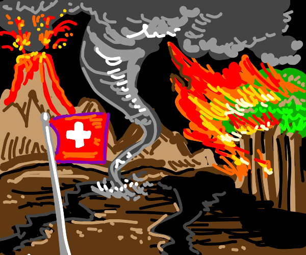 switzerland has many natural disasters going