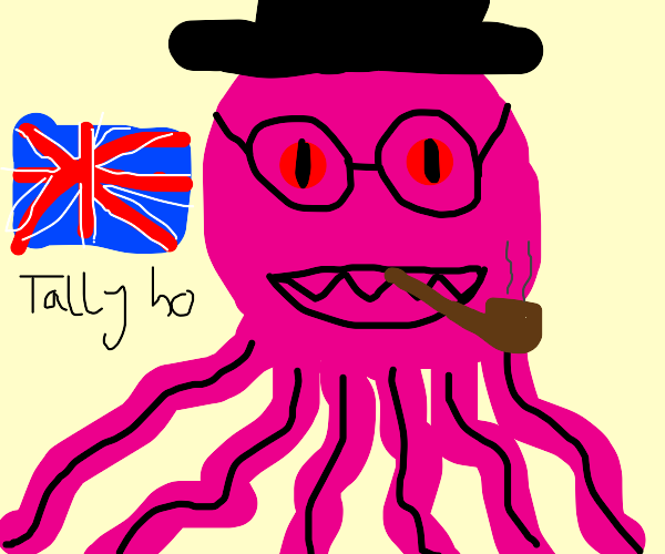 The God Cthulhu is a British Gentleman now