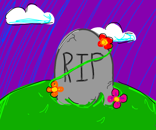 Beautiful grave
