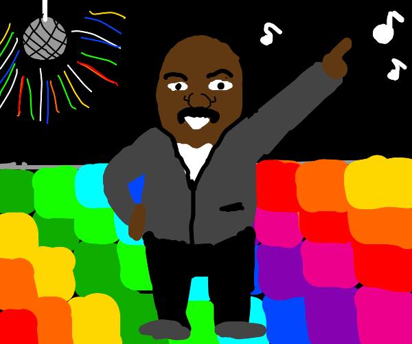 steve harvey at the disco