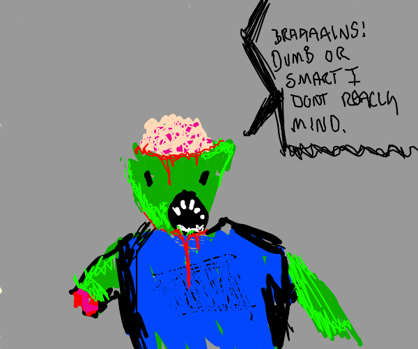 open-minded zombie