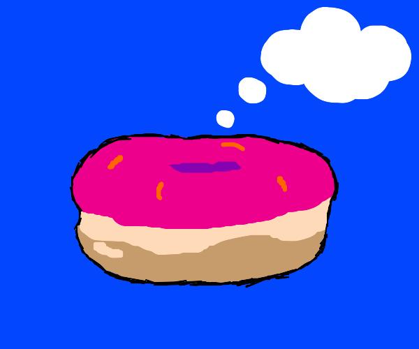 Thinking donut