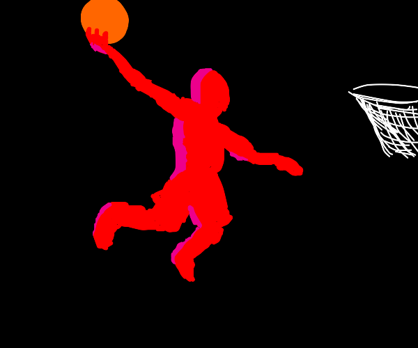 Basket ball player