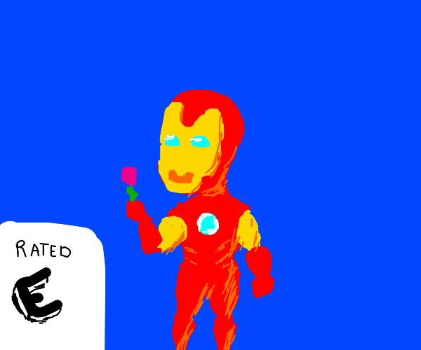 Kid-friendly iron man
