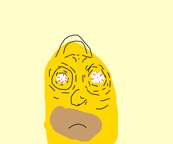 Homer staring at you