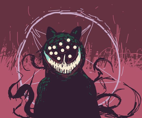 Satanist cat