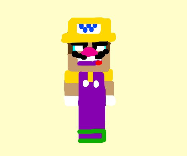 Minecraft Wario