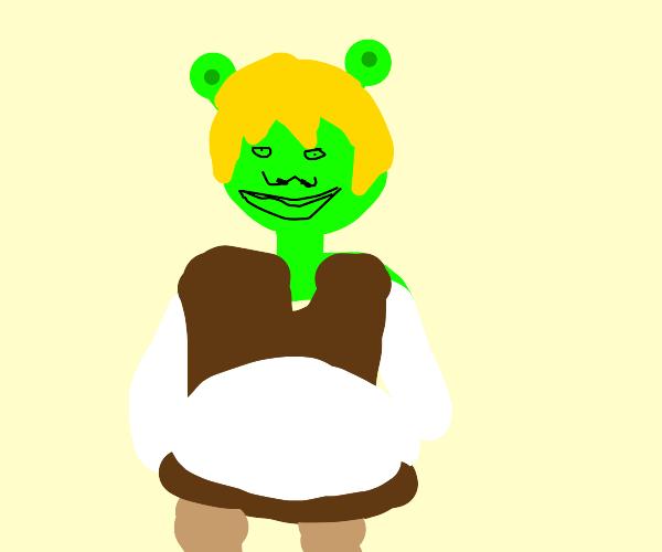 blond Shrek