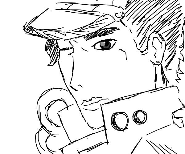 Draw my future Discord PFP (JoJo edition)