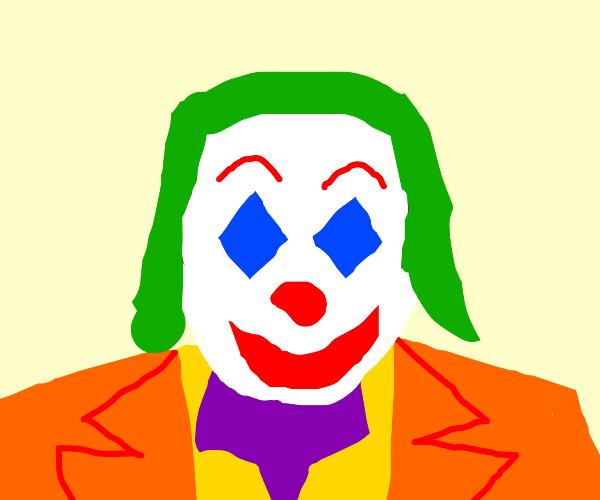 cartoony joker