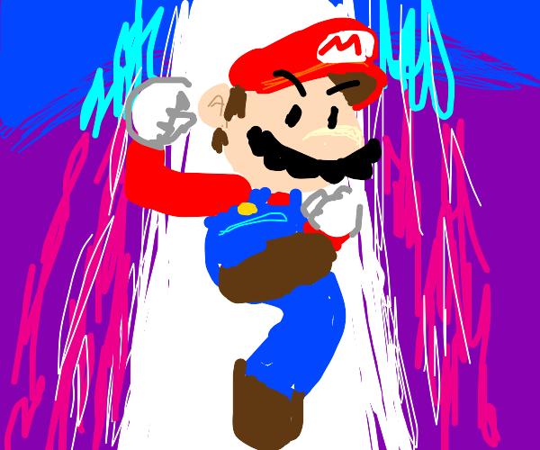 Mario game smash bros