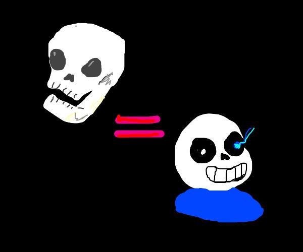 skull DOES equal sans
