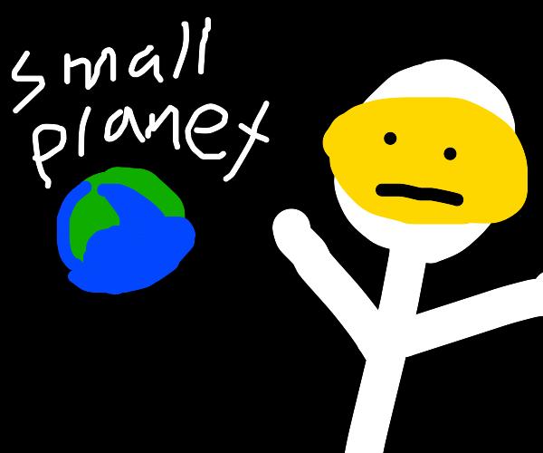 A giant astronaut