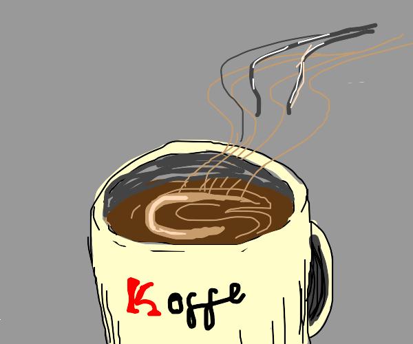 dat coffee do be kinda fresh doe,,,