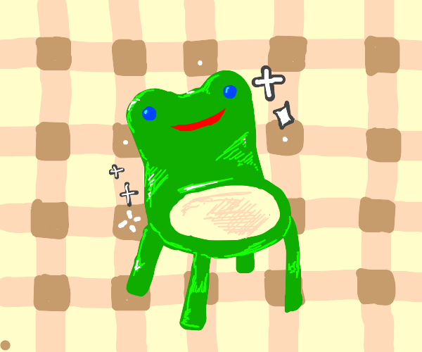 Animal Crossing Froggy Chair Strikes Back Drawception