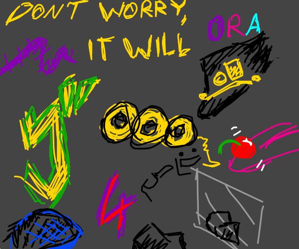 Last panel will be my new pfp if it's jojo