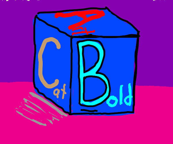 B is for Bold