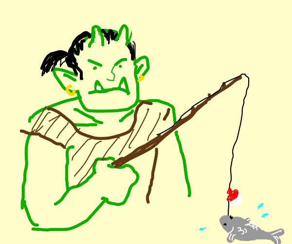 Orc Fishing