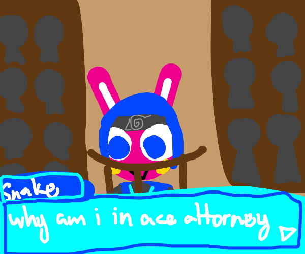 snake in ace attorney