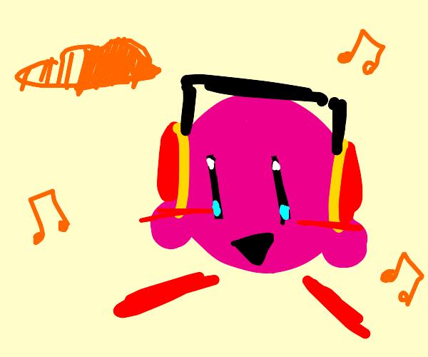 Kirby uses Soundcloud