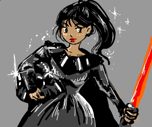 Anime Girl Darth Vader