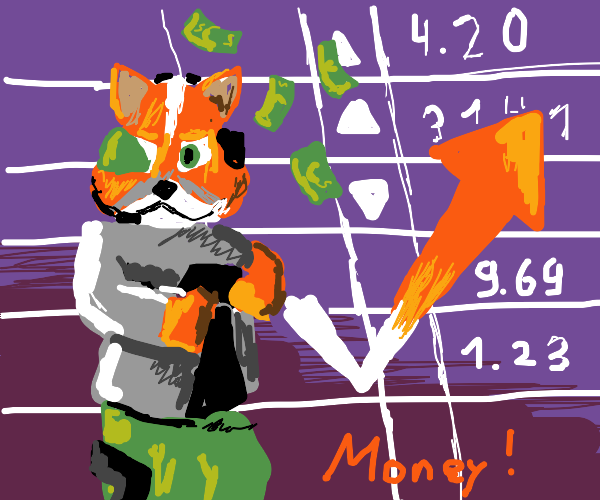 fox from smash bros is capitalist