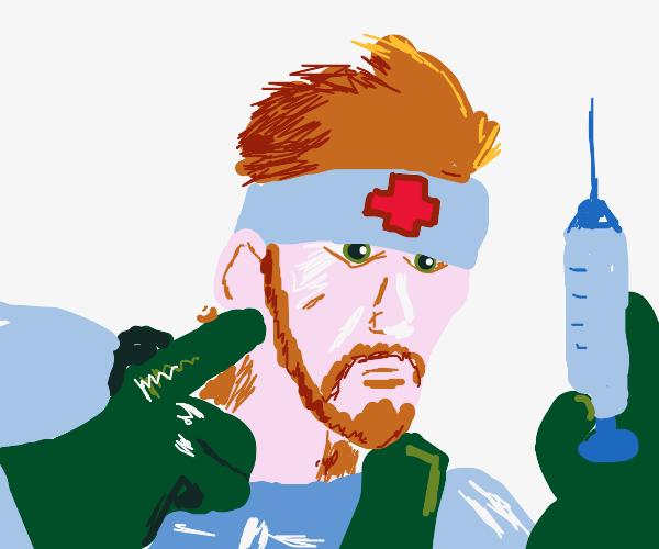 Snake (MGS) is a nurse