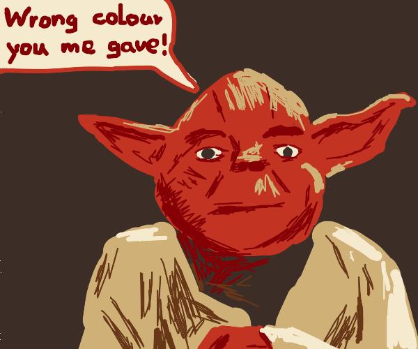 Yoda's alternate colors