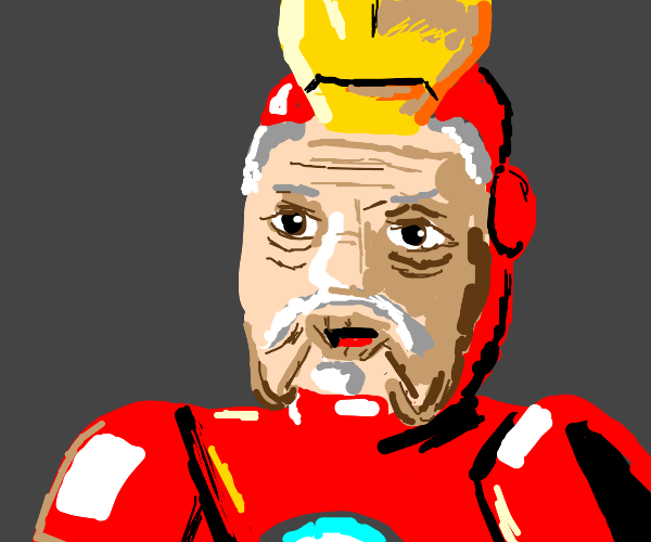 Iron man is old
