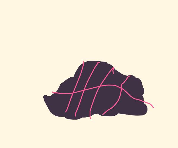 Veiny rock