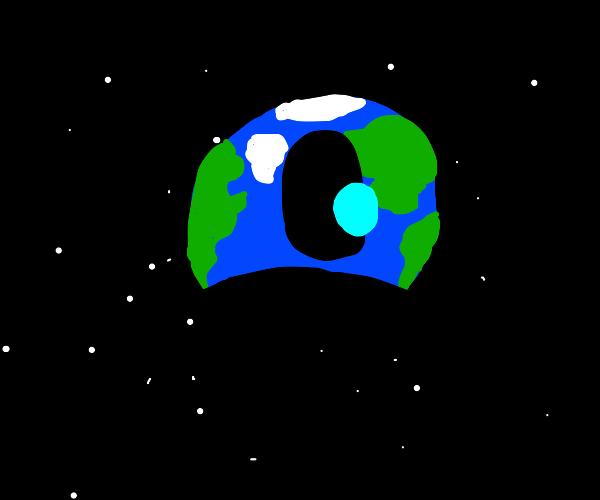 The earth is an eye