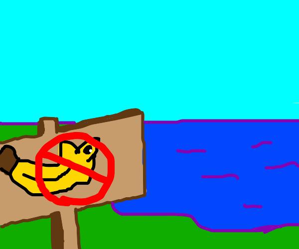 bananafish not allowed here