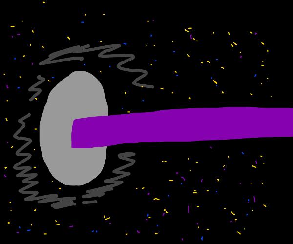 Grey circle slurps thicc pink line