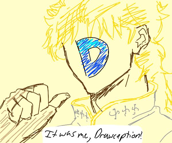 Kono dio da but drawception D