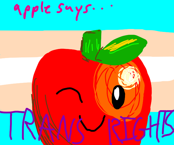 Trans rights Apple