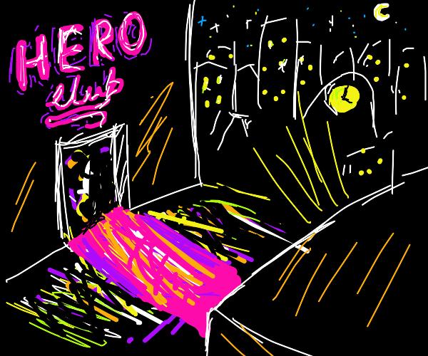 neon city nightlife