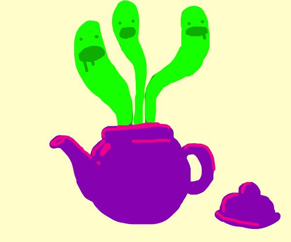 Teapot releases souls