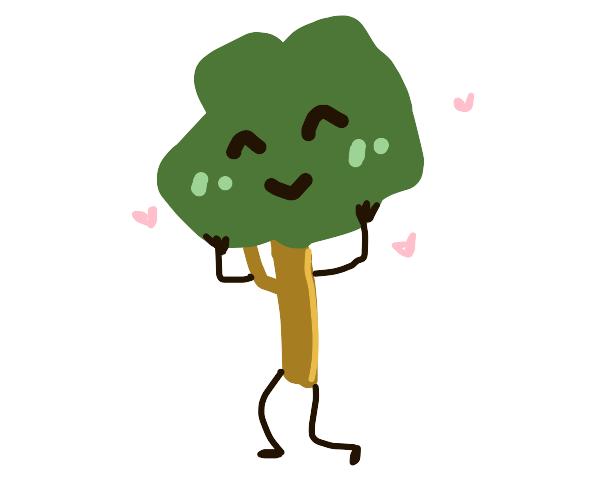 Tree from BFB saying Wow your sooo helpful!
