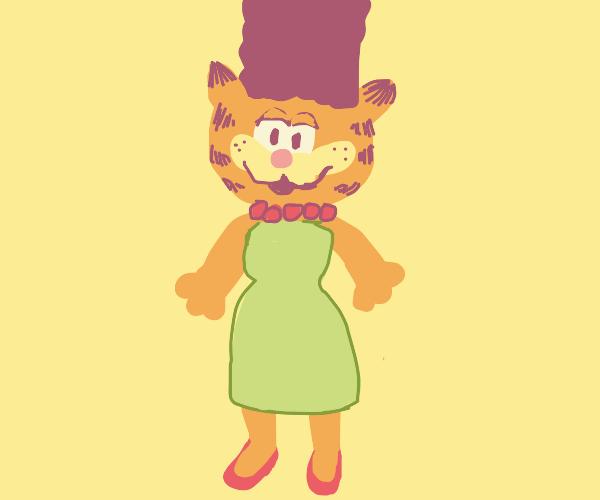 Marge simpson X Garfield