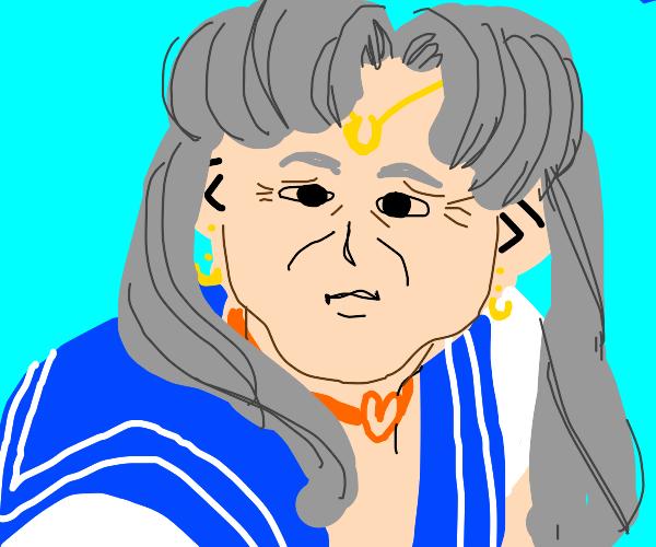Grandma wants to be an anime character
