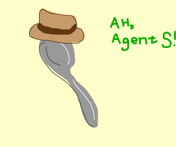 Agent Spoon (from phineas and ferb)