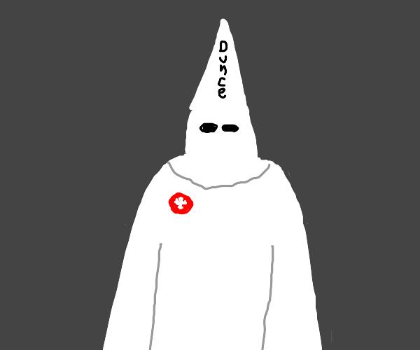 KKK member is a dunce