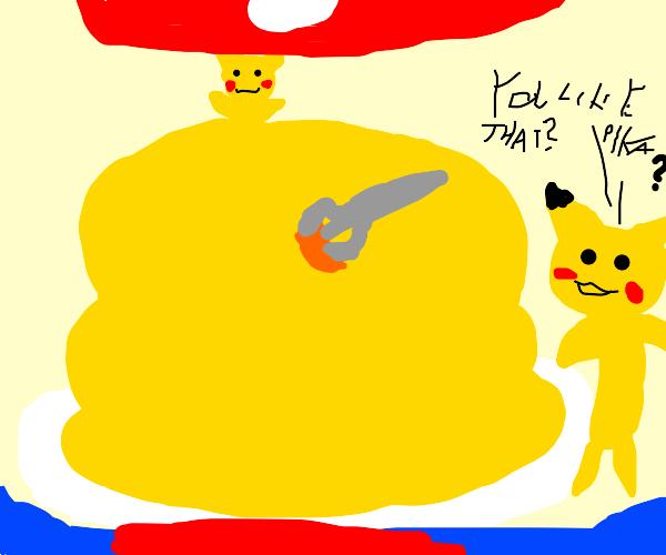 Pikachu pie