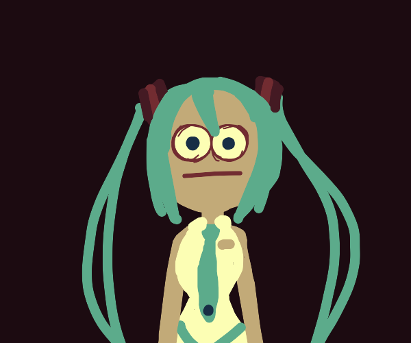 Miku Vibe Check Face