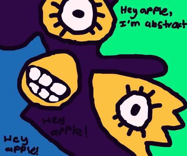 Abstract Annoying Orange