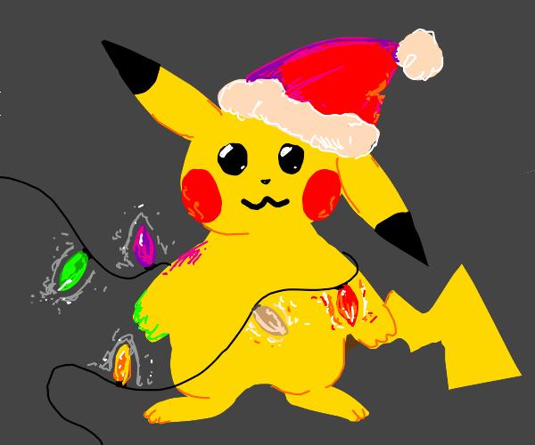 Christmas Pikachu