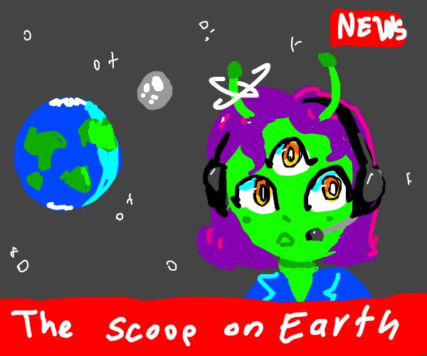 alien reporter